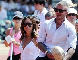 Khoảnh khắc hạnh phúc của vợ chồng Beckham