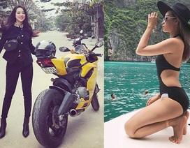 Hot girl xứ Huế 25 tuổi, mê xe phân khối lớn, sở hữu 20 cửa hàng