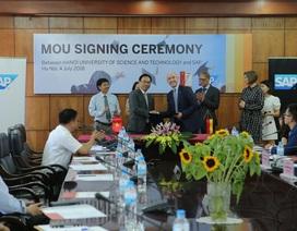 SAP và Đại học Bách khoa Hà Nội hợp tác đào tạo nhân tài đón đầu công nghiệp 4.0