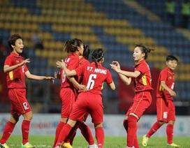 Đội tuyển nữ Việt Nam thắng Singapore 10-0