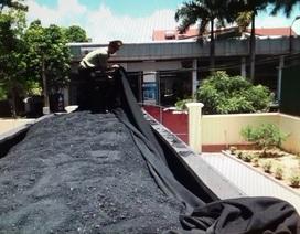 Bắt xe ô tô vận chuyển 40 tấn than không rõ nguồn gốc