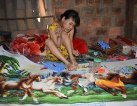 Nghị lực và ước mơ của cô gái khuyết tật