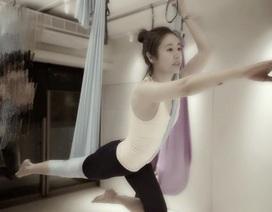 Lâm Tâm Như khoe ảnh tập yoga giữ dáng