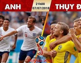 """HLV Lê Thuỵ Hải """"đặt cửa"""" Thuỵ Điển thắng Anh"""