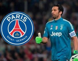 Buffon chính thức gia nhập PSG