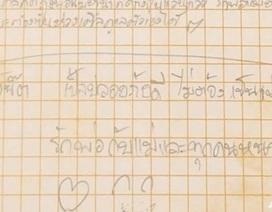 """Xúc động bức thư đội bóng """"nhí"""" Thái Lan gửi cha mẹ ở ngoài hang"""