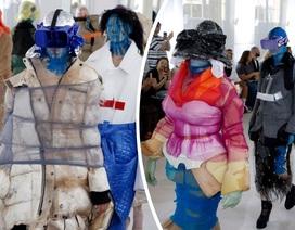 """Sửng sốt xem thời trang """"công nghệ 4.0"""""""