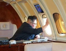 Chuyên cơ nghi của ông Kim Jong-un bất ngờ xuất hiện tại Nga