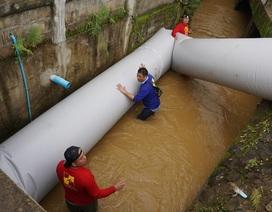 Đường ống khổng lồ có thể cứu đội bóng Thái Lan khi gặp sự cố