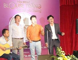 Bác sĩ đi hát xin học bổng giúp sinh viên nghèo