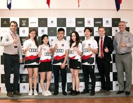 """Audi đồng hành cùng đại diện Việt Nam tham gia cuộc đua """"F1 trong trường học"""""""