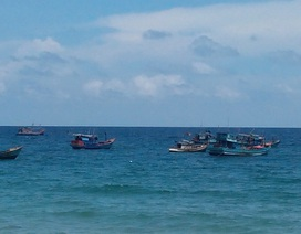 Chìm tàu trên biển Phú Quốc, 9 ngư dân được cứu sống