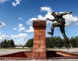 Binh sĩ các nước tranh tài tại giải đấu quân sự quốc tế