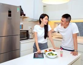 """Vợ chồng Công Vinh – Thủy Tiên kêu gọi """"Ăn uống chuẩn chuyên gia"""""""