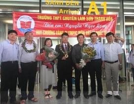 """Bí quyết giành """"mưa"""" huy chương Olympic của thầy trò Trường THPT Chuyên Lam Sơn"""