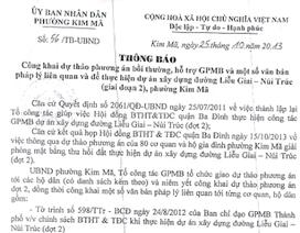 Hà Nội: Bị thu hồi đất, người dân mong muốn được xem xét lại chế độ bồi thường, tái định cư
