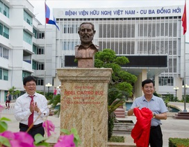 Khánh thành tượng Lãnh tụ Cu Ba Fidel Castro tại Quảng Bình
