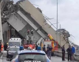Ô tô rơi từ độ cao 45m trong vụ sập cầu cao tốc Italy