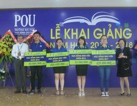 Đại học Thái Bình Dương công bố 3,2 tỷ đồng học bổng cho tân sinh viên