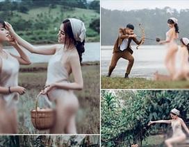 """Á hậu Thư Dung chụp ảnh """"lố lăng"""" ở Đà Lạt, Cục Nghệ thuật Biểu diễn nói gì?"""
