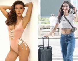 Siêu mẫu Minh Tú mặc gợi cảm lên đường dự Asia's Next top Model