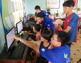 Gia Lai: Thanh niên tình nguyện lên vùng cao giúp bà con xây dựng nông thôn mới