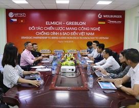 Đại diện Greblon - thương hiệu sơn chống dính số 1 tại Đức thăm đối tác Elmich tại Việt Nam