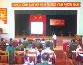 Lớp tập huấn kiến thức bác sĩ gia đình theo dự án quân dân y kết hợp 2017-2018