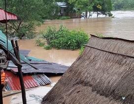 Nghệ An: Mưa lớn gây ngập lụt nhiều nơi
