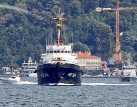 Hải quân Nga điều hàng loạt tàu tiếp viện cho quân đội Syria