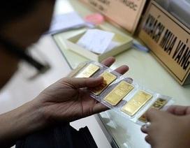 USD tăng, giá vàng sụt giảm