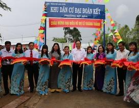 Chủ tịch MTTQ Việt Nam thăm các hộ nghèo, gia đình chính sách