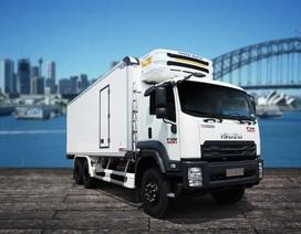ISUZU - Quyền Auto mang đến Vietfish 2018 giải pháp vận chuyển chuyên nghiệp