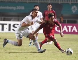 Olympic Thái Lan 0-1 Olympic Uzbekistan: Người Thái trước nguy cơ bị loại