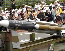 Đài Loan đẩy mạnh phát triển tên lửa đề phòng Trung Quốc