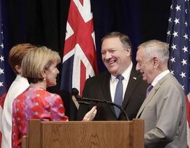 """Nhật - Mỹ - Úc """"liên thủ"""" đối đầu Trung Quốc"""