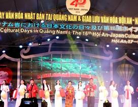 """Bế mạc """"Những ngày văn hóa Nhật Bản tại Quảng Nam"""""""