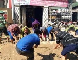 Nghệ An: Hàng trăm đoàn viên giúp dân khắc phục hậu quả sau bão