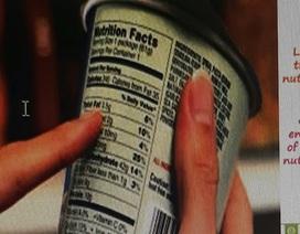 Nhãn thực phẩm: Miếng giấy nhỏ, lợi ích to!