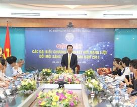 Quyền Bộ trưởng TT-TT Nguyễn Mạnh Hùng: Đất nước muốn mạnh, bắt buộc phải dùng công nghệ