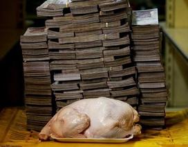 """Venezuela đang """"mắc kẹt"""" trong siêu lạm phát"""