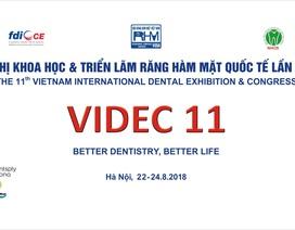 Tổ chức hội nghị khoa học & triển lãm Răng Hàm Mặt quốc tế lần thứ 11