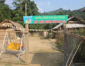 Nghệ An: Còn gần 1.200 phòng học tranh tre, tạm mượn