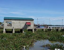 Xã chia lô trên sông cho dân thuê, xây dựng trái phép
