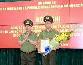 Thiếu tướng Nguyễn Minh Chính chủ trì Hội nghị tại Cục An ninh mạng