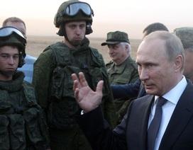 Ông Putin bất ngờ lệnh kiểm tra khả năng sẵn sàng chiến đấu của quân đội Nga