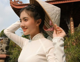Thiếu nữ An Giang sở hữu góc nghiêng thần thánh, đẹp như tượng tạc