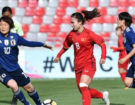 Thua Nhật Bản, đội tuyển bóng đá nữ Việt Nam đứng thứ hai bảng C