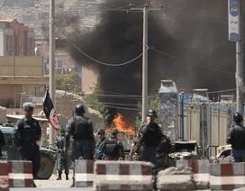 Tấn công tên lửa liên tiếp nhằm vào dinh tổng thống Afghanistan