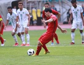 Olympic Việt Nam sắp đấu Bahrain, Công Phượng luyện đá 11m